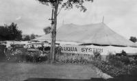 Chautauqua tent, ca. 1920