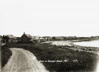View at Crescent Beach, Owls Head, ca. 1920