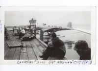 Canadian planes, Norcross wharf, ca. 1940