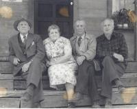 Group portrait, Norcross House, Norcross, ca. 1948