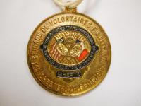 Medal, Brigade de Volontaires Franco-Américains, 1910