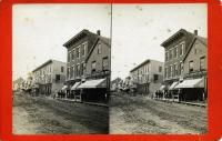 Main Street south from Thorndike Hotel, Rockland, ca. 1875
