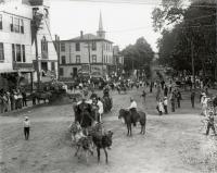 Circus Parade on Main Street, Sanford, ca. 1900