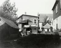 Rear of Brown Block, Sanford, ca 1905