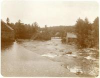 Oriental Powder Mills buildings, Gorham and Windham, ca. 1900