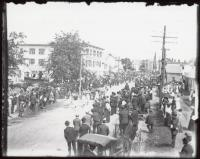 Fourth of July, Springvale Square, 1907