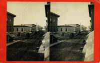 Main Street south from Spofford Block, Rockland, ca. 1875