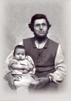 John Merrill and son, Edwin, Leeds, 1860
