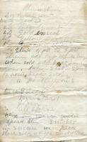 Rheumatism and poultice recipe, ca. 1860