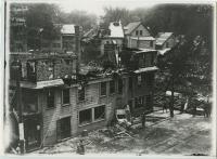 Ruins of Harmon's Corner, Biddeford, 1911