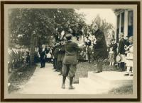 Woodbury K. Dana anniversary celebration, Westbrook, 1916