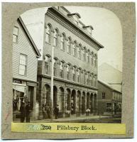 Pillsbury Block, Rockland, ca. 1875