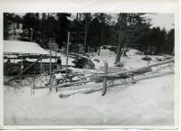 Sawmill, Westport Island, 1946