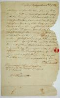Peleg Wadsworth letter on the Penobscot Expedition, 1779