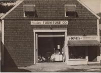 Hudon Furniture Company, Main Street, Dixfield, 1947