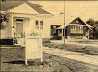 Library, Schoolhouse, Lovell, 1914