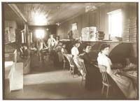 Curtis Chewing Gum Factory, Portland, ca. 1900