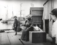 On the Pier, Portland, ca. 1900