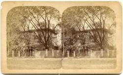 Stereo view of Longfellow House, Portland, ca. 1875