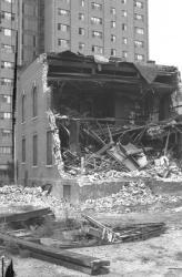 Anshe Sfard synagogue demolition, Portland, 1983