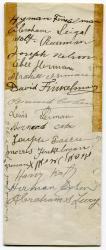 Anshe Sfard mortgage signatures, Portland, 1917