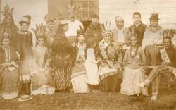 Passamaquoddy group at Pleasant Point, 1906