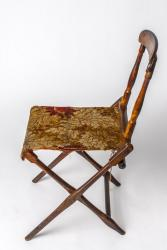 Civil War era folding camp chair, 1861
