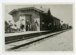 Grand Trunk Railway station, Bethel, ca. 1880