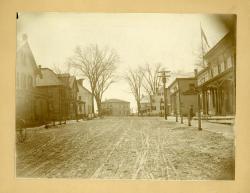 Main Street, Bethel Hill, 1896