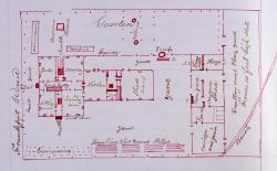 Ezekiel Hopkins house and grounds, Hampden, 1840