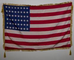 GAR Flag, Pittsfield, ca. 1912