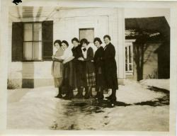 Normal School roommates, Farmington, ca. 1921