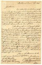 Dr. John. S. H. Fogg of Eliot, Maine collected this letter of Hancock's as part of his greater collection of all of the signers of the Declaration of Independence