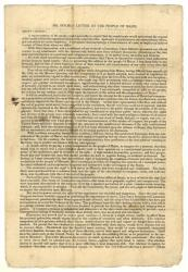 Click here to see documents relating to the Missouri Compromise and Maine Statehood