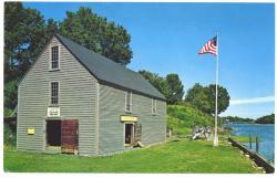 Postcard of the John Hancock Wharf Museum, 1990