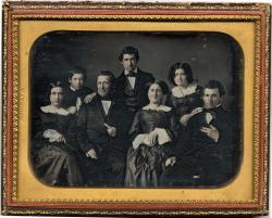 Unidentified family, ca. 1857