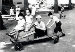 Goon children playing, Portland, ca. 1934