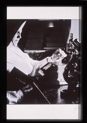 Mercy Hospital laboratory technician, Portland, ca. 1943