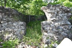 Fort Sullivan powder house remains, Eastport, 2018