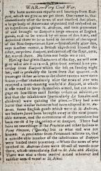 """Very Civil War"" details rumors and exodus of citizens, Eastport, 1812"