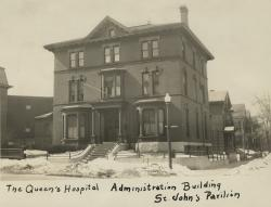 The Queen's Hospital administration building, Portland, ca. 1930