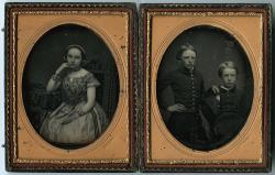 Ellen, William Pitt Preble, and Stephen Longfellow, Portland, ca. 1853