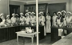 F.S.N.S. Cooking Class, 1916