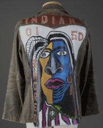 "Gina Brooks ""Indian"" jacket, Fredericton, New Brunswick, 2018"