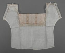 Preble family infant shirt, Bangor, ca. 1892