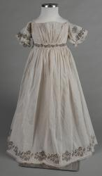 Morning dress for a young child, ca. 1830