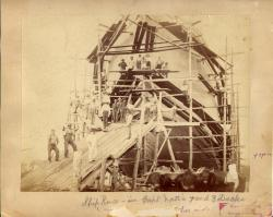 Ship Reuce, Kennebunk, 1881
