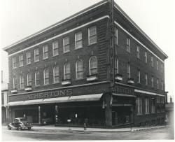 Atherton's Furniture, Free Street, Portland, 1938