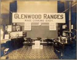 Range department, Atherton Furniture, Lewiston, ca. 1920