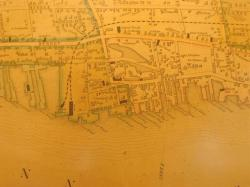 Waterfront and downtown Bath, 1851